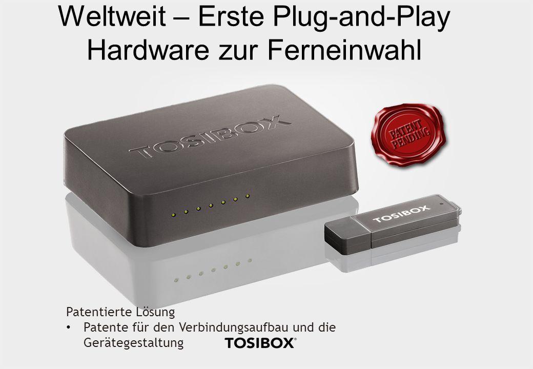 Weltweit – Erste Plug-and-Play Hardware zur Ferneinwahl