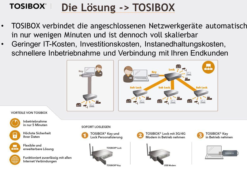 Die Lösung -> TOSIBOX