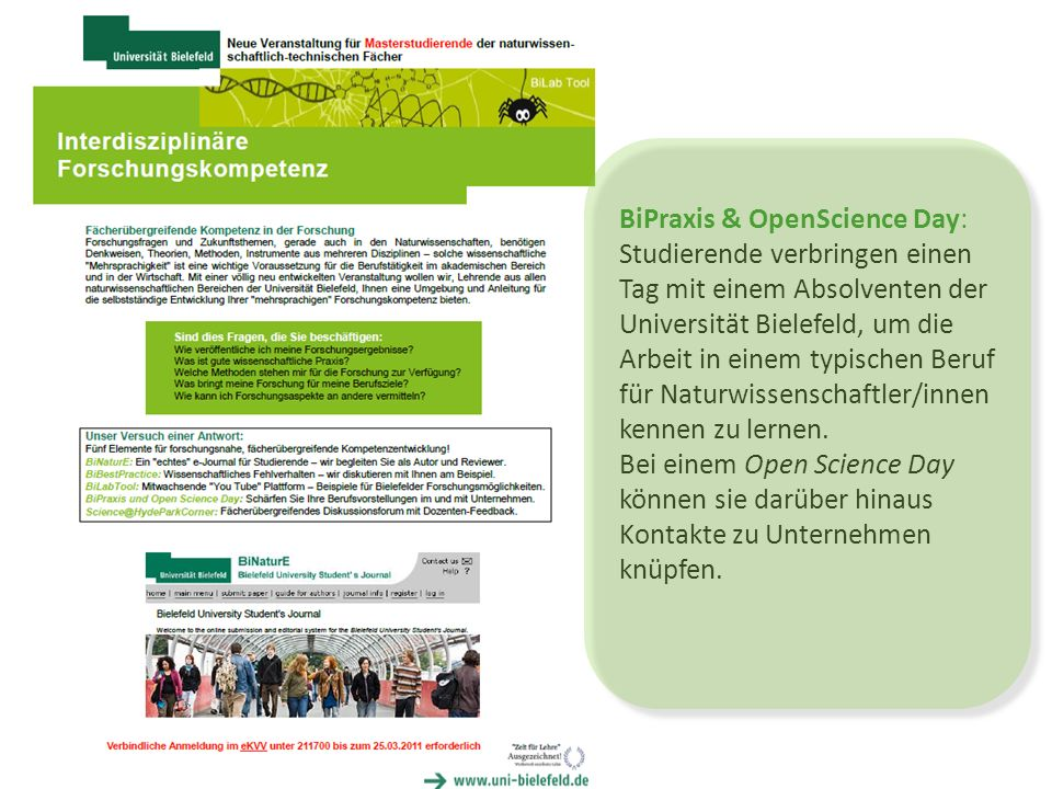 BiPraxis & OpenScience Day: