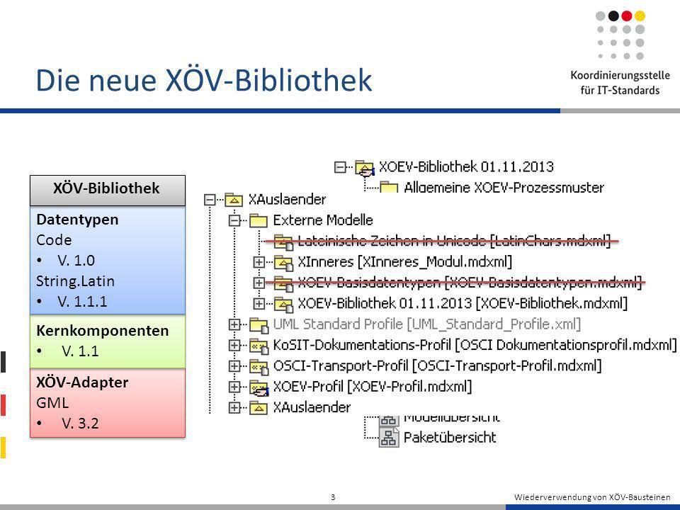 Die neue XÖV-Bibliothek