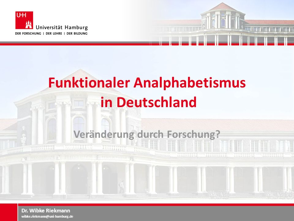 Funktionaler Analphabetismus in Deutschland