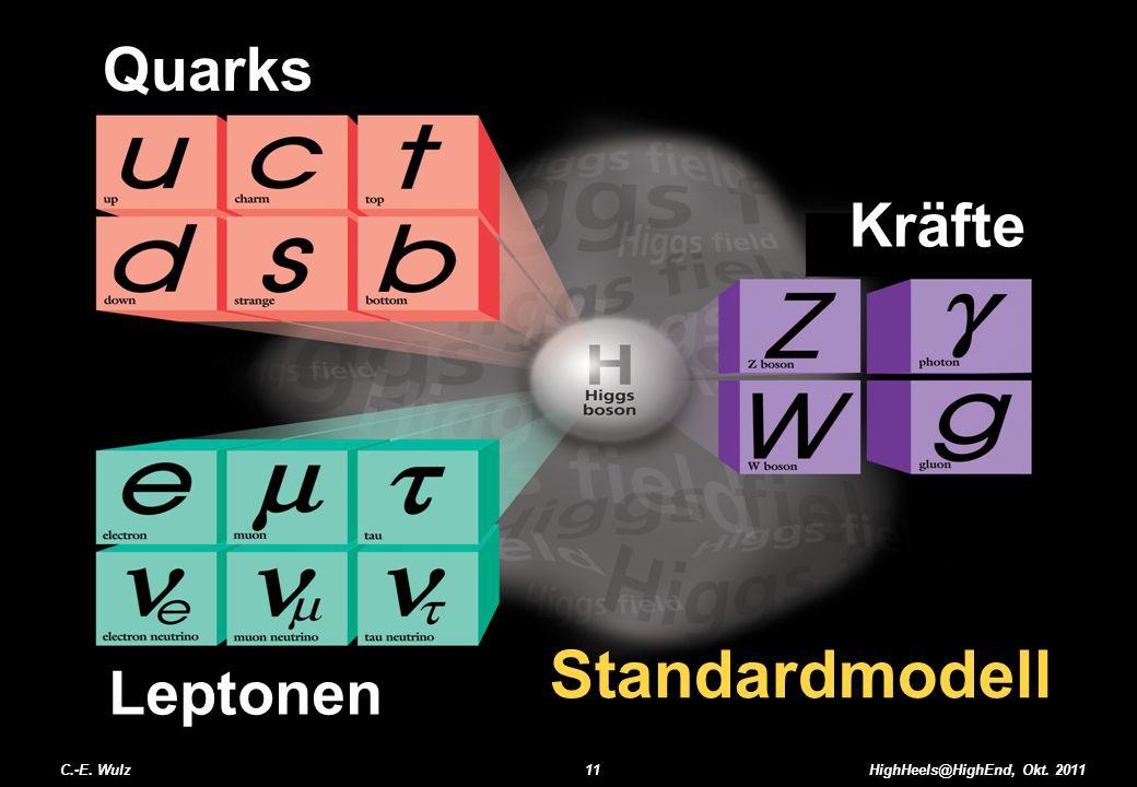 Standardmodell Quarks Kräfte Leptonen C.-E. Wulz