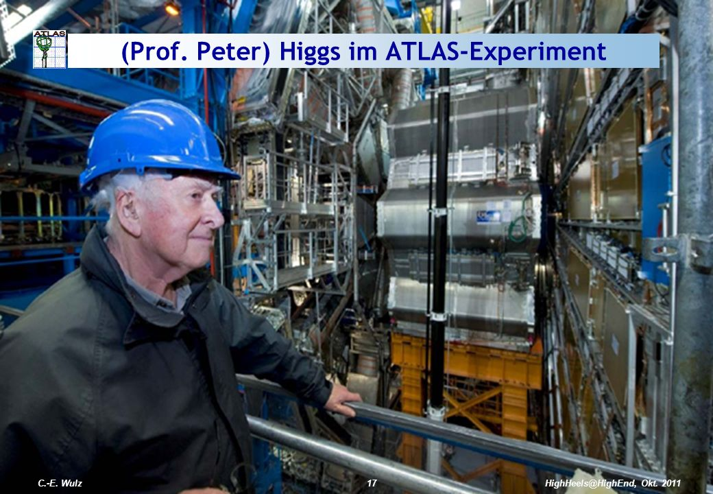 (Prof. Peter) Higgs im ATLAS-Experiment