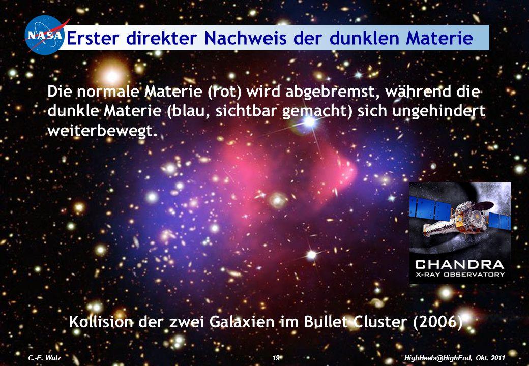 Erster direkter Nachweis der dunklen Materie