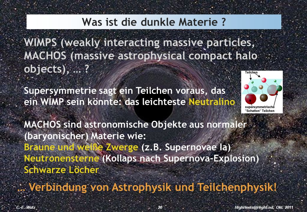 Was ist die dunkle Materie