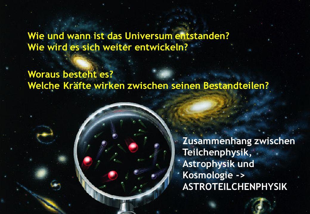 Wie und wann ist das Universum entstanden