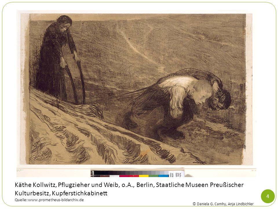 Käthe Kollwitz, Pflugzieher und Weib, o. A