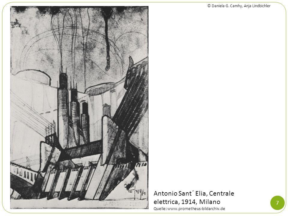 Antonio Sant´ Elia, Centrale elettrica, 1914, Milano