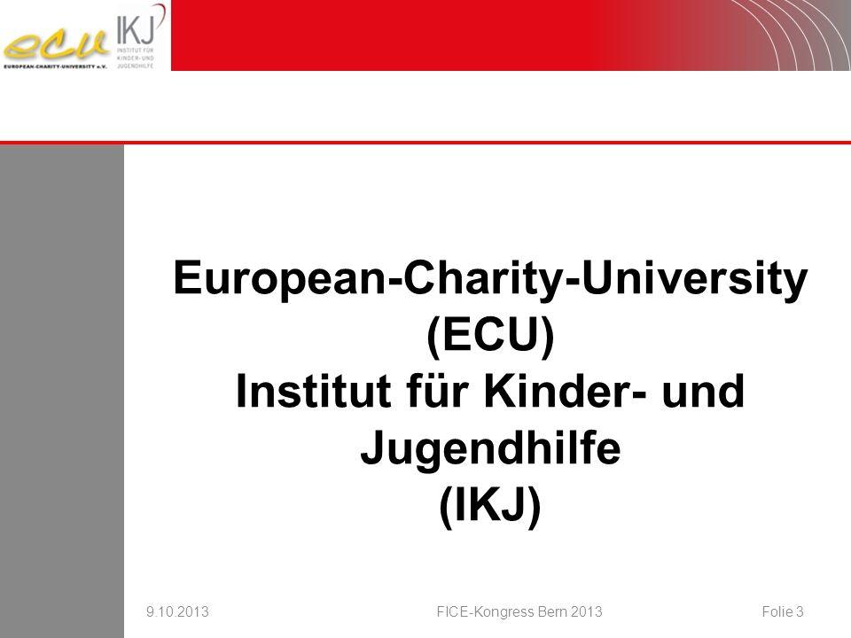 European-Charity-University Institut für Kinder- und Jugendhilfe
