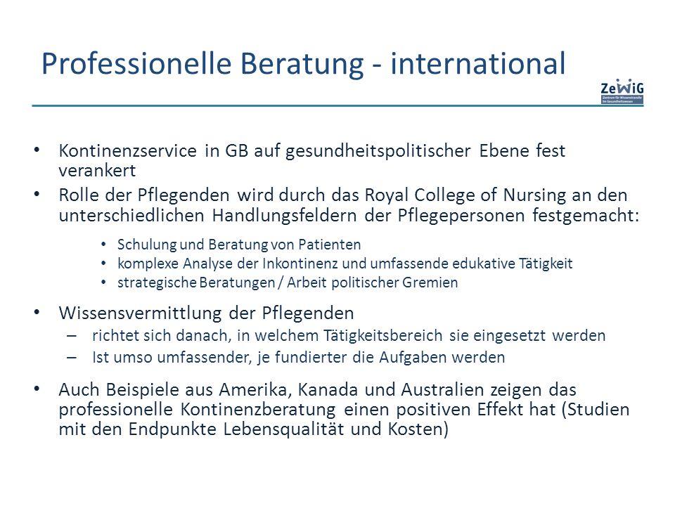 Professionelle Beratung - international