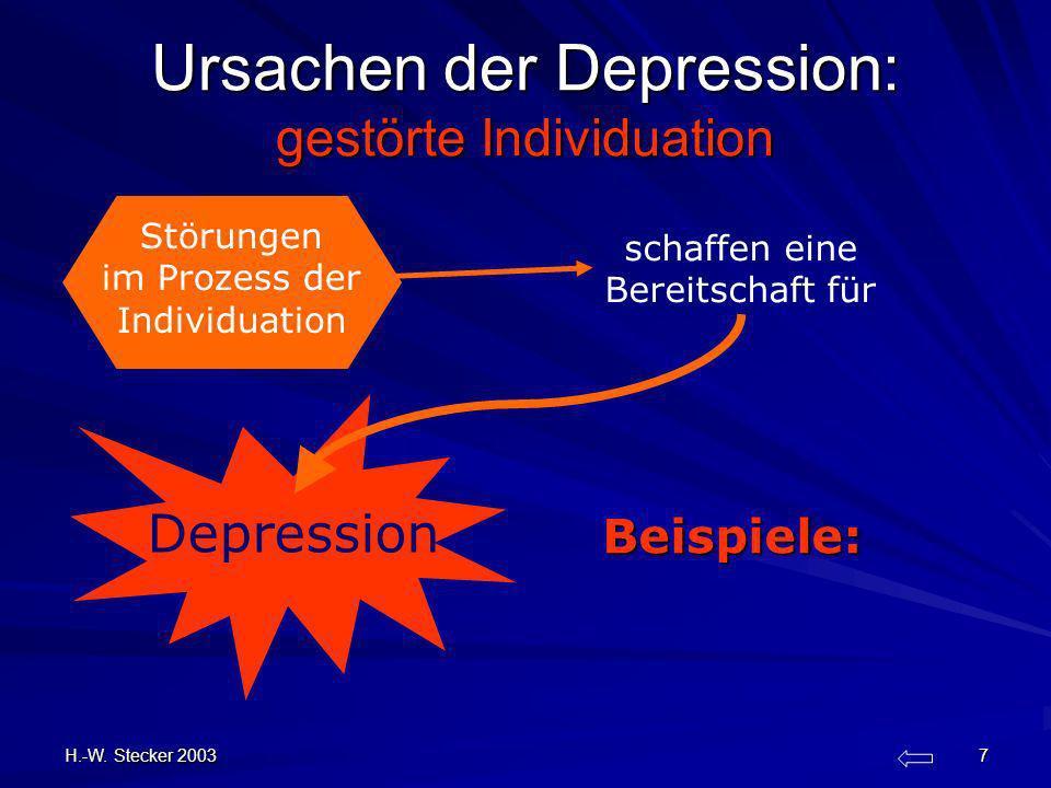 Ursachen der Depression: gestörte Individuation