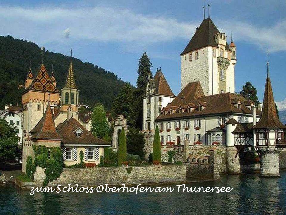 zum Schloss Oberhofen am Thunersee