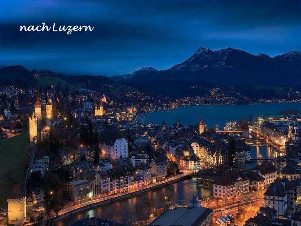 nach Luzern