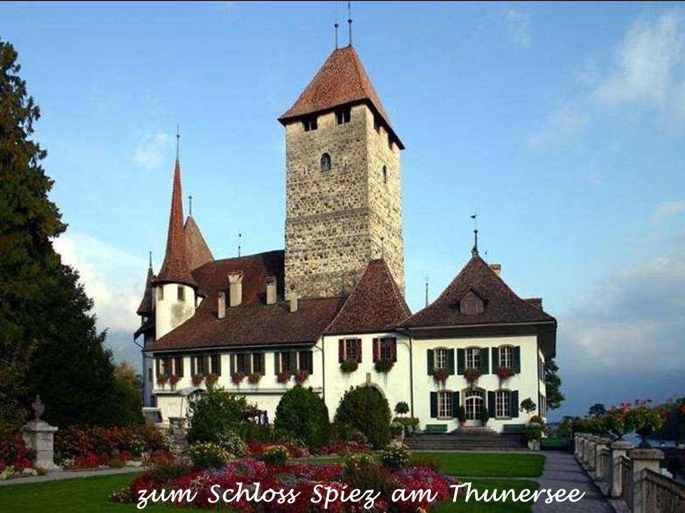 zum Schloss Spiez am Thunersee