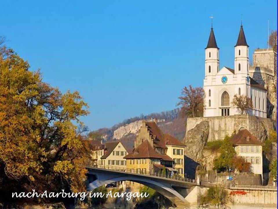 nach Aarburg im Aargau