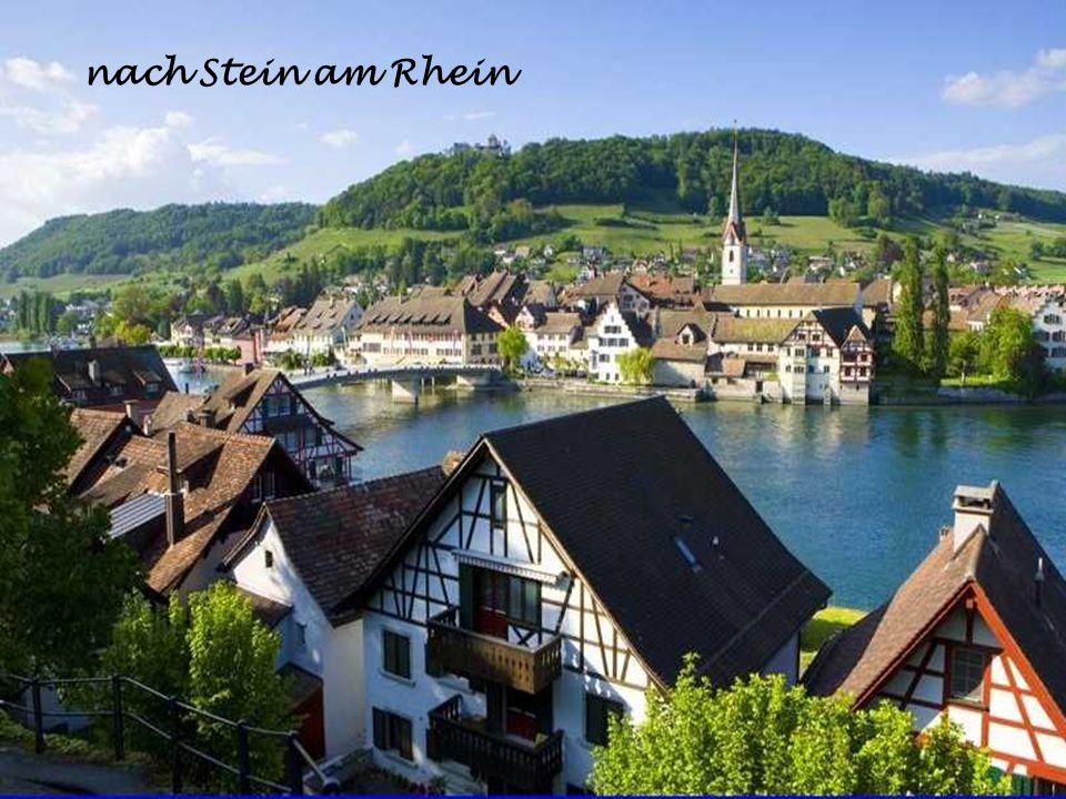 nach Stein am Rhein