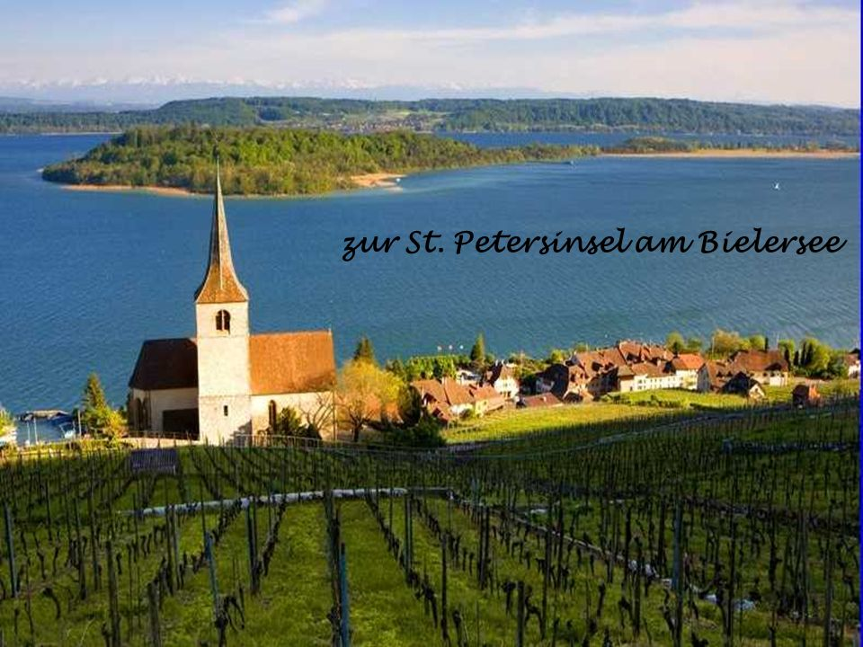 zur St. Petersinsel am Bielersee