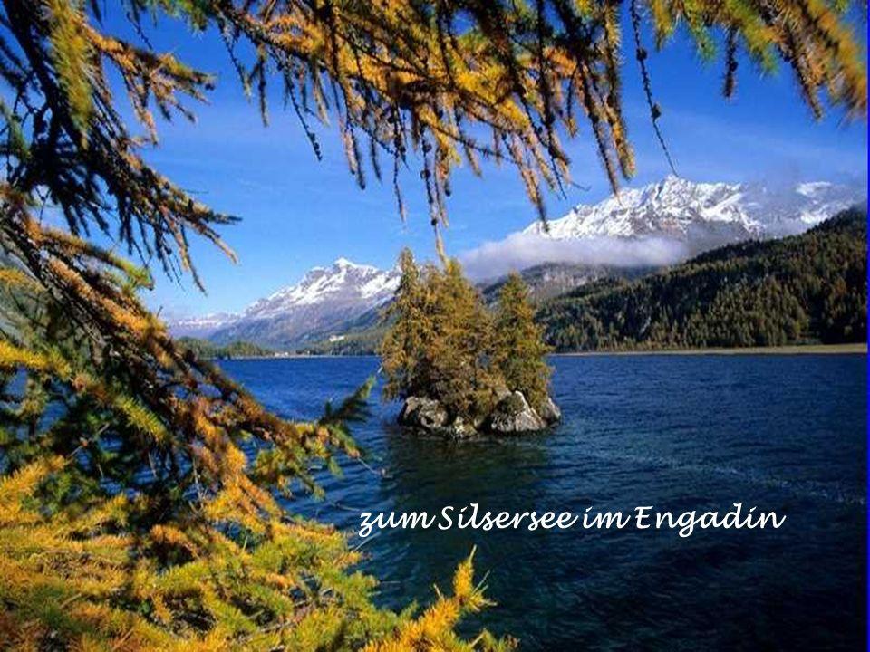 zum Silsersee im Engadin