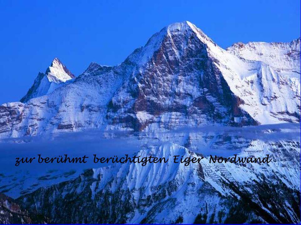 zur berühmt berüchtigten Eiger Nordwand