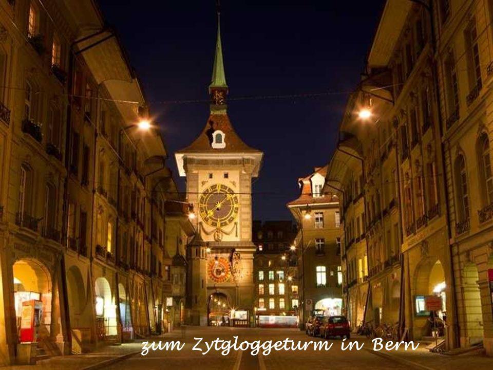 zum Zytgloggeturm in Bern