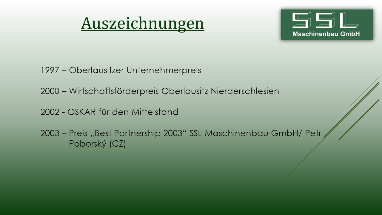 Auszeichnungen 1997 – Oberlausitzer Unternehmerpreis