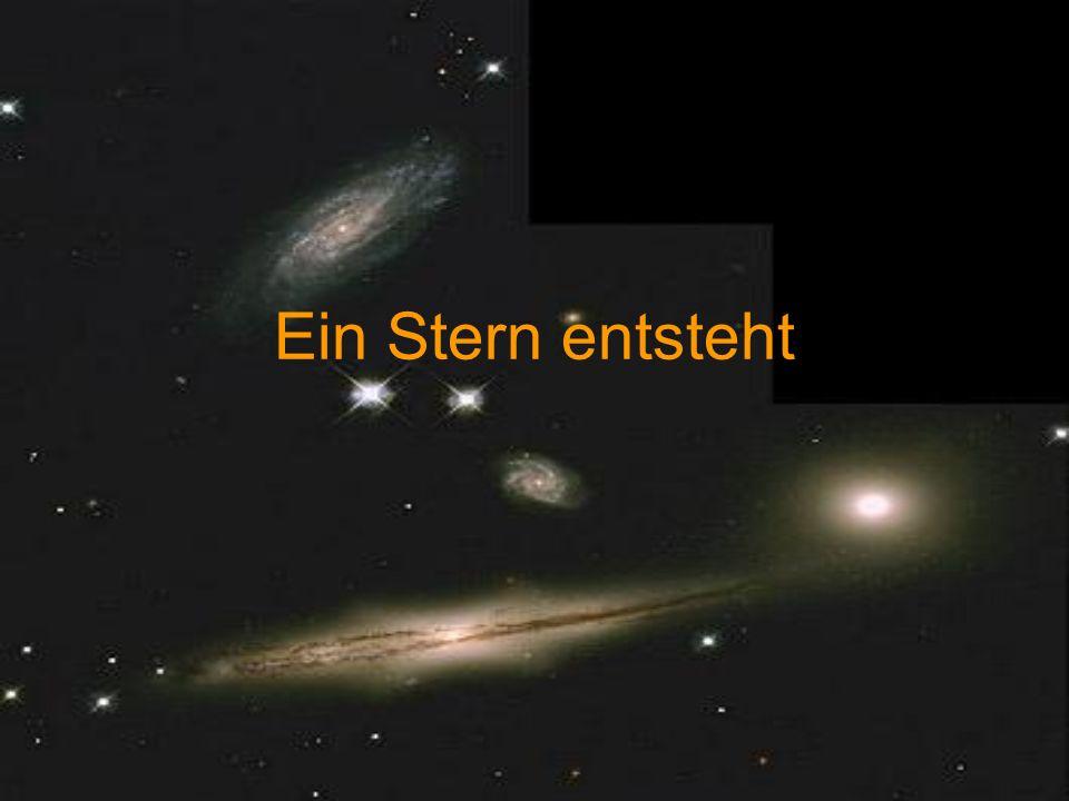 Ein Stern entsteht