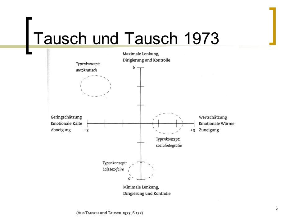 Tausch und Tausch 1973