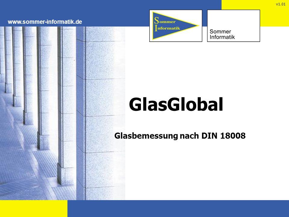 Glasbemessung nach DIN 18008