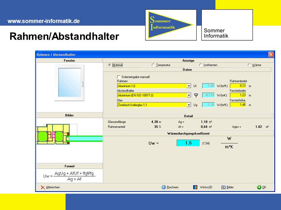 Rahmen/Abstandhalter