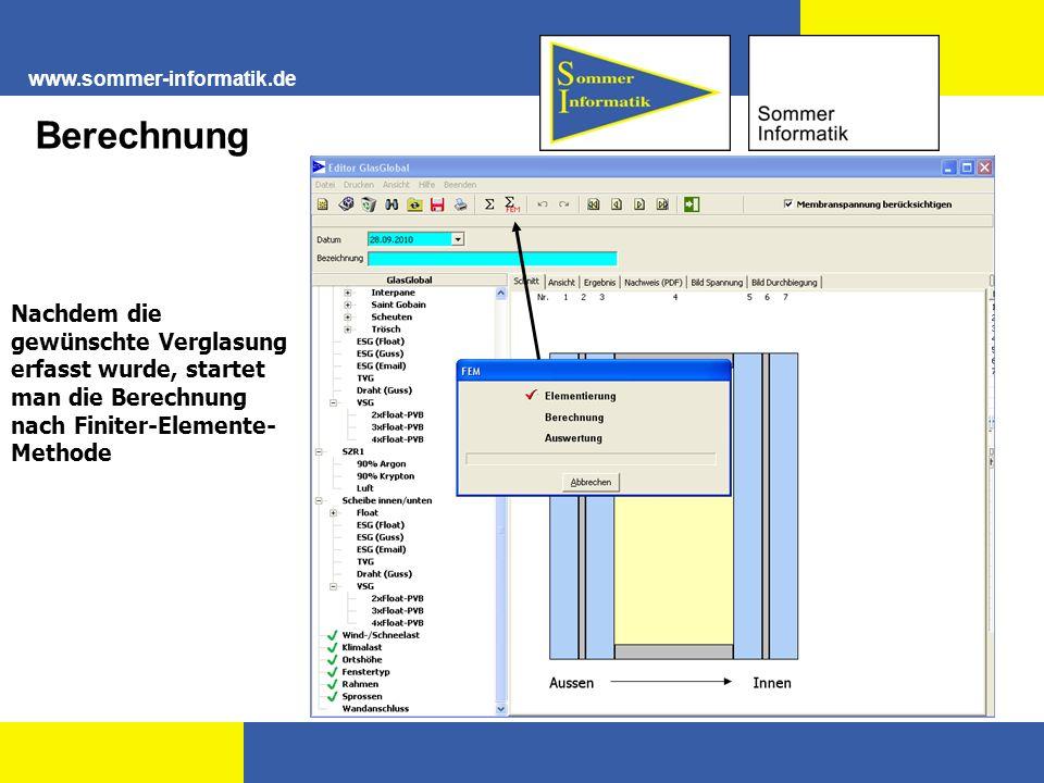 www.sommer-informatik.de Berechnung.