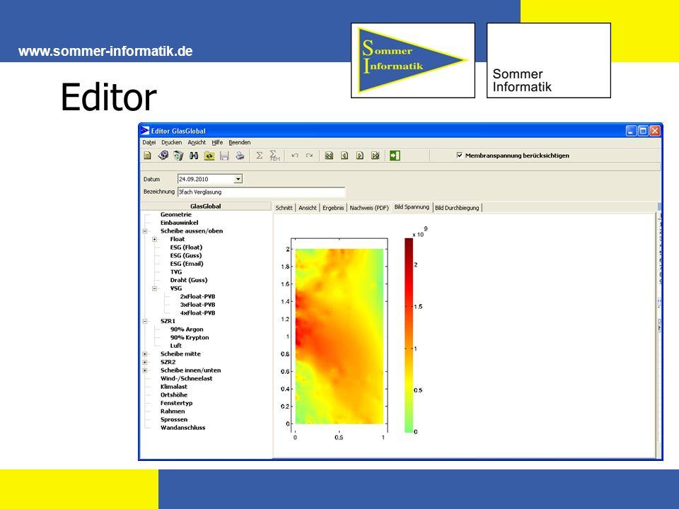 www.sommer-informatik.de Editor