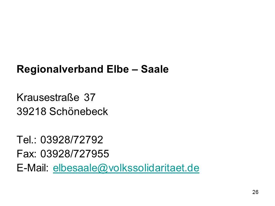 Regionalverband Elbe – Saale