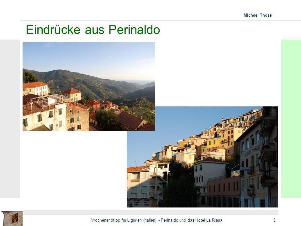 Eindrücke aus Perinaldo