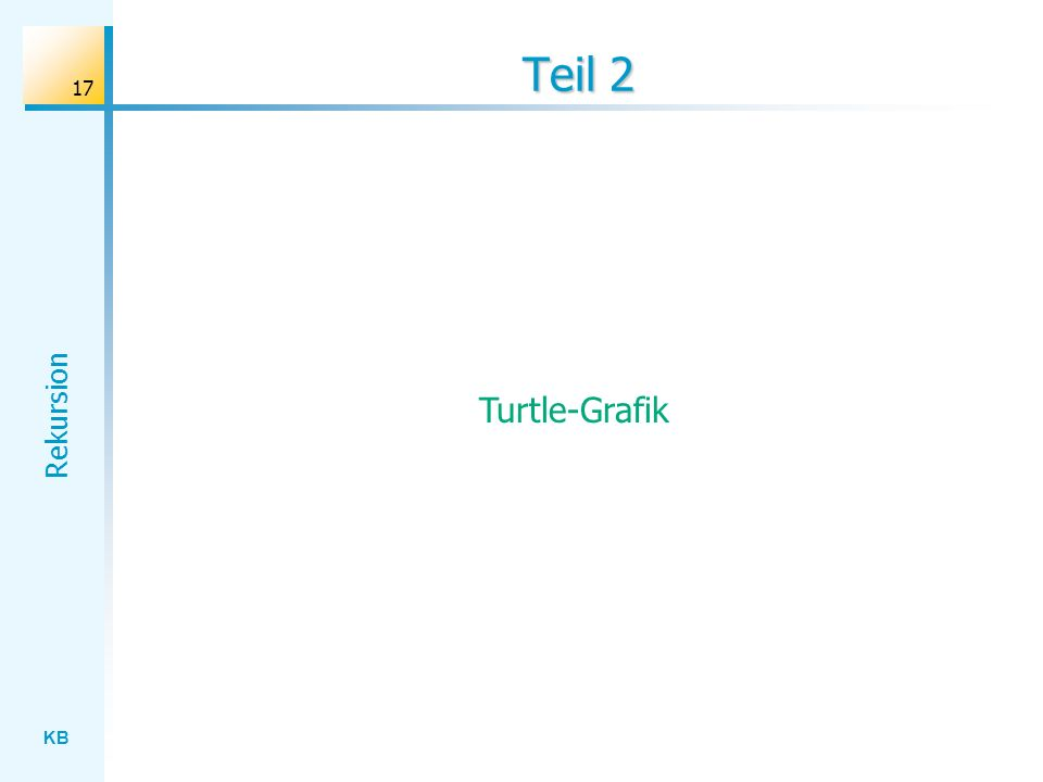 Teil 2 Turtle-Grafik