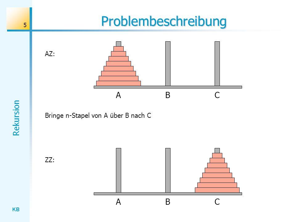 Problembeschreibung A B C A B C AZ: