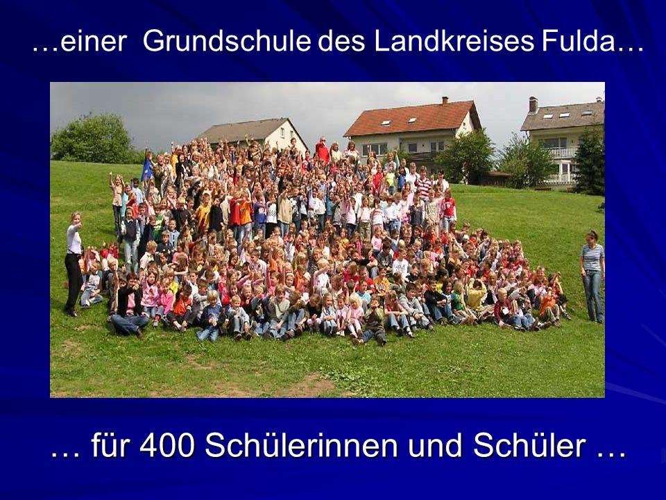 … für 400 Schülerinnen und Schüler …