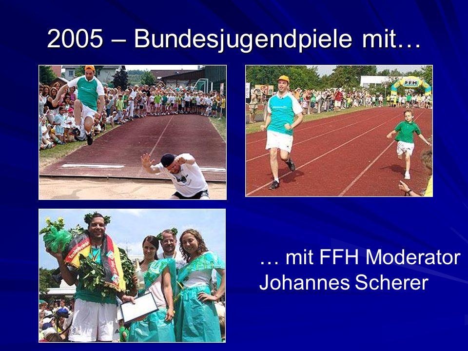 2005 – Bundesjugendpiele mit…