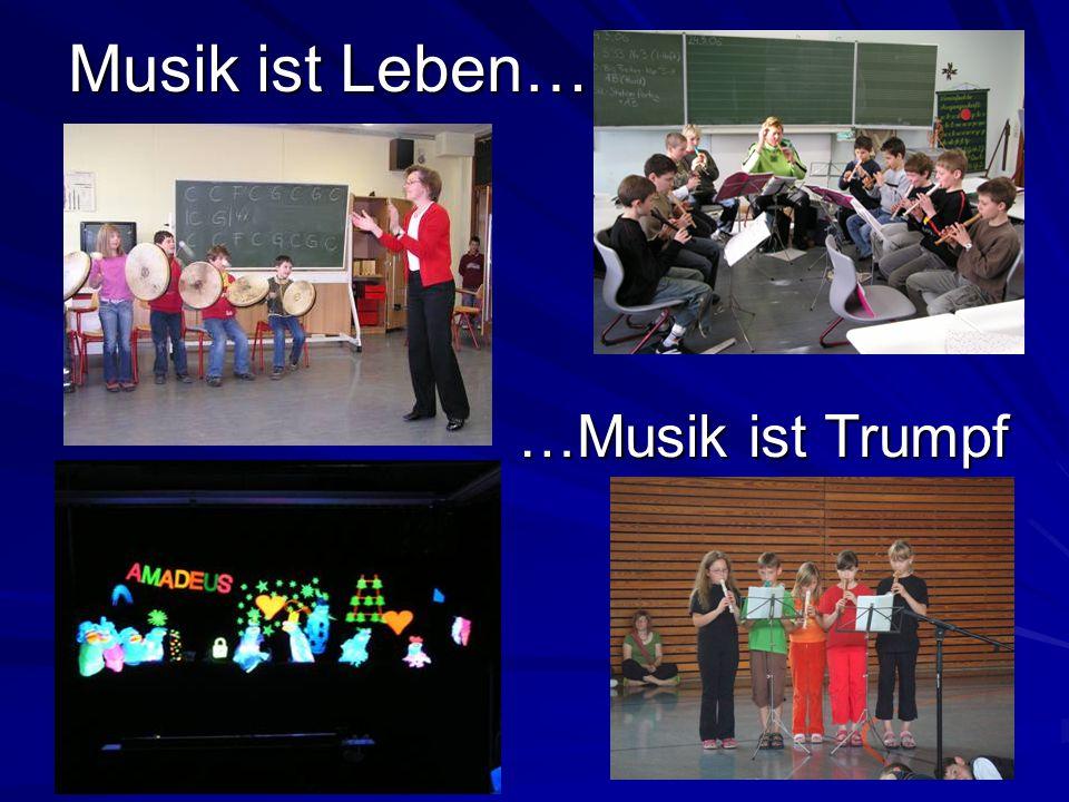 Musik ist Leben… …Musik ist Trumpf