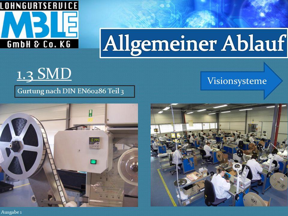 Allgemeiner Ablauf 1.3 SMD Visionsysteme
