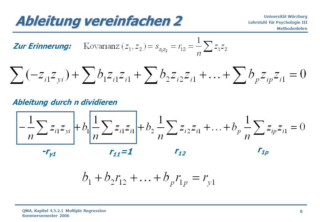 Ableitung vereinfachen 2