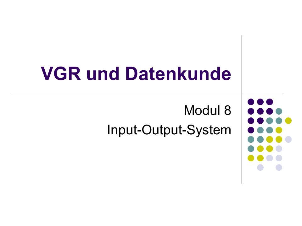 Modul 8 Input-Output-System