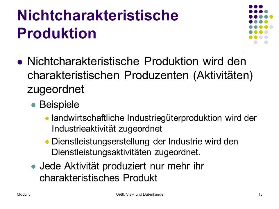 Nichtcharakteristische Produktion