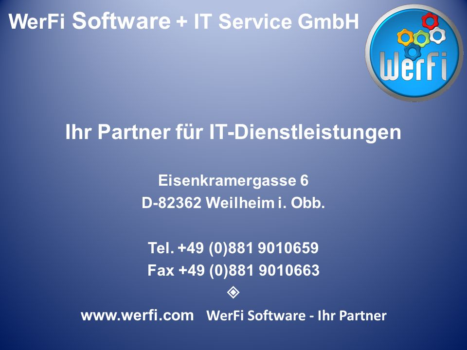 WerFi Software – Ihr Partner