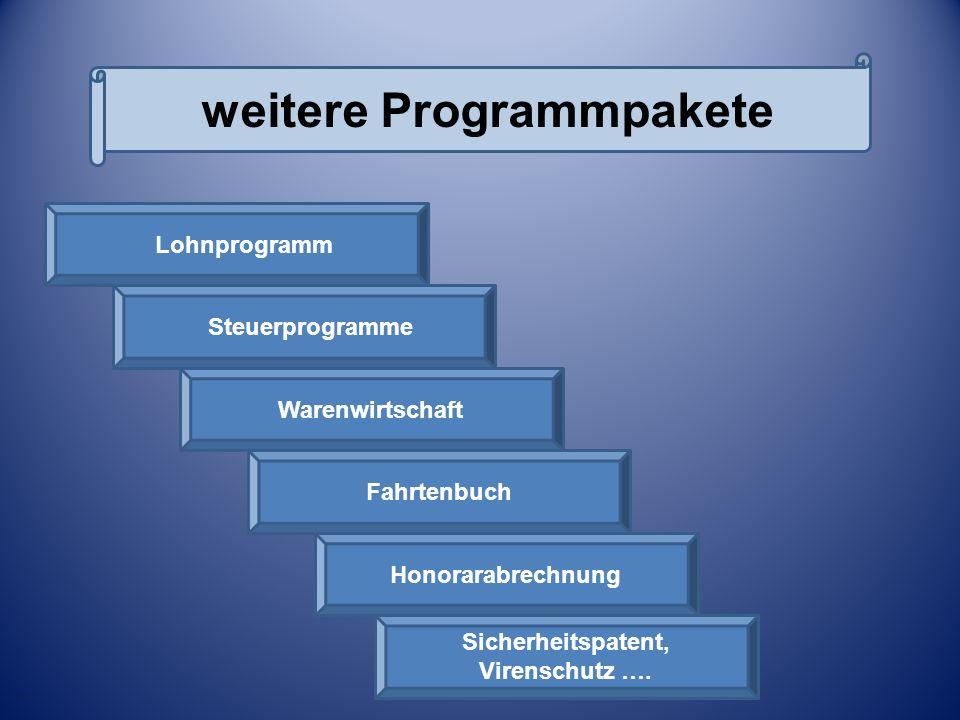 Weitere Programmpakete