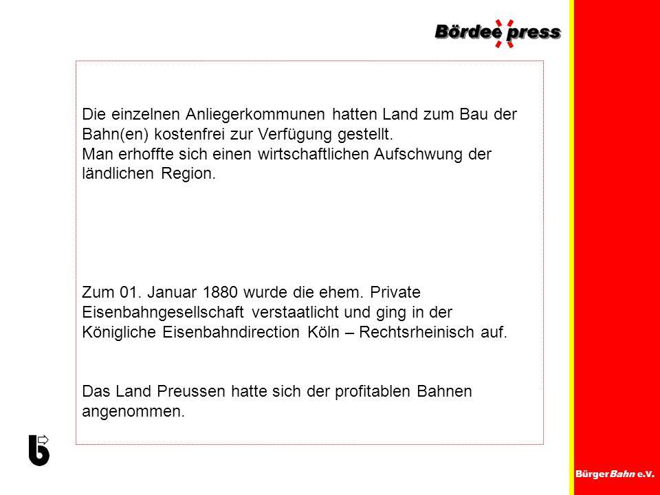 Königliche Eisenbahndirection Köln – Rechtsrheinisch auf.