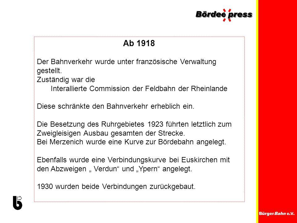 Interallierte Commission der Feldbahn der Rheinlande