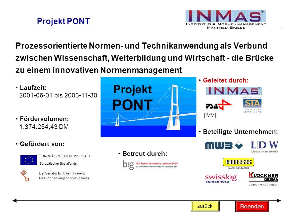 Projekt PONT Projekt PONT