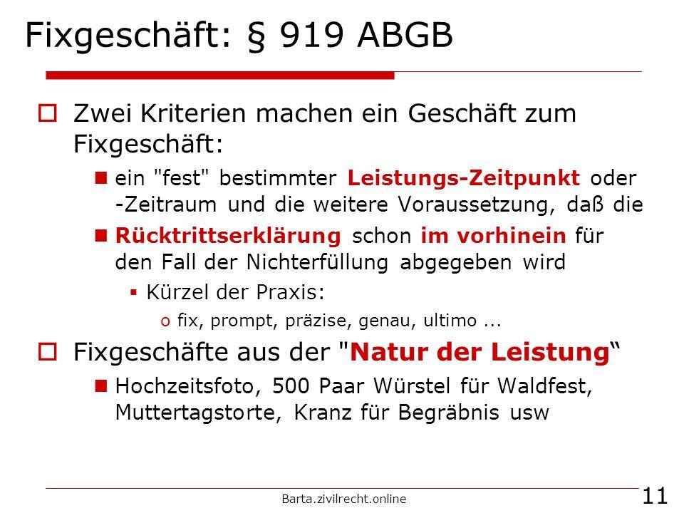 Barta.zivilrecht.online