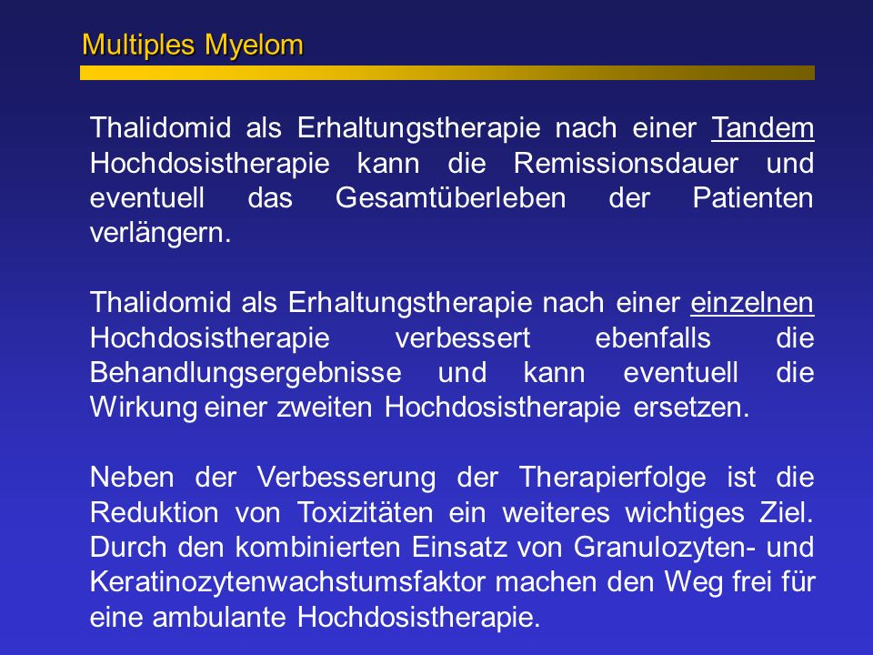 Multiples Myelom