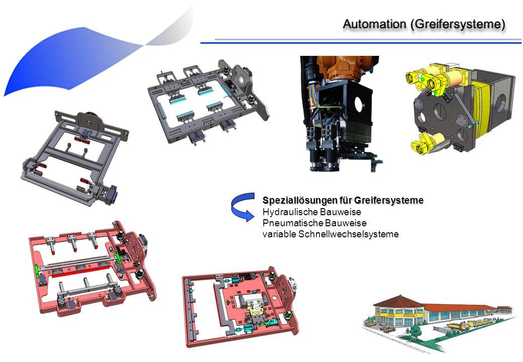 Speziallösungen für Greifersysteme